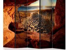 Paraván - Cave: Beautiful Beach II [Room Dividers]